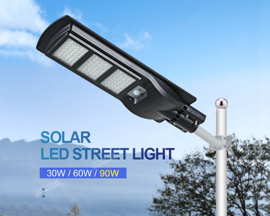 product-ALLTOP -ALLTOP High lumen outdoor waterproof IP65 30w 60w 90w all-in-one led solar street li