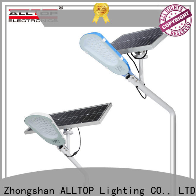 ALLTOP energy-saving solar led street lamp directly sale for landscape