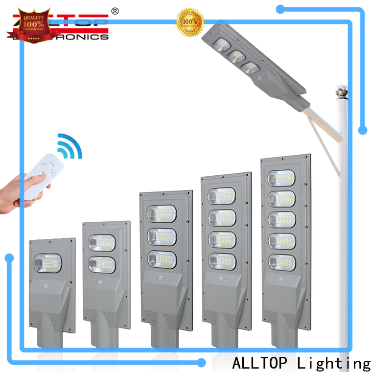 ALLTOP all in one solar street light price list factory direct supply for highway
