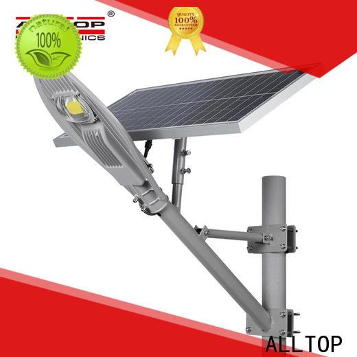 ALLTOP top selling 12w solar street light supplier for landscape