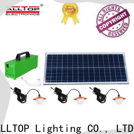 ALLTOP solar power battery bank manufacturer indoor lighting