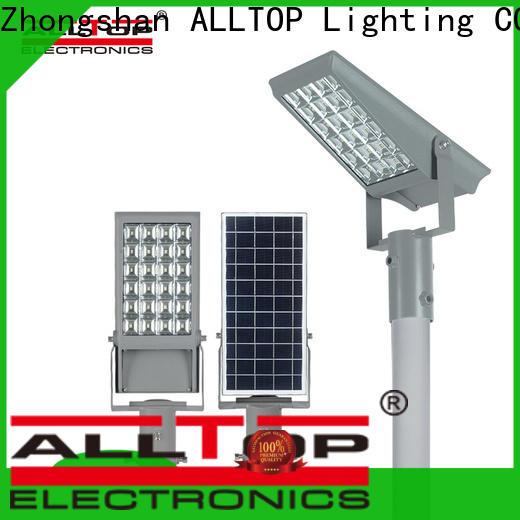 ALLTOP portable solar powered exterior flood lights suppliers for stadium