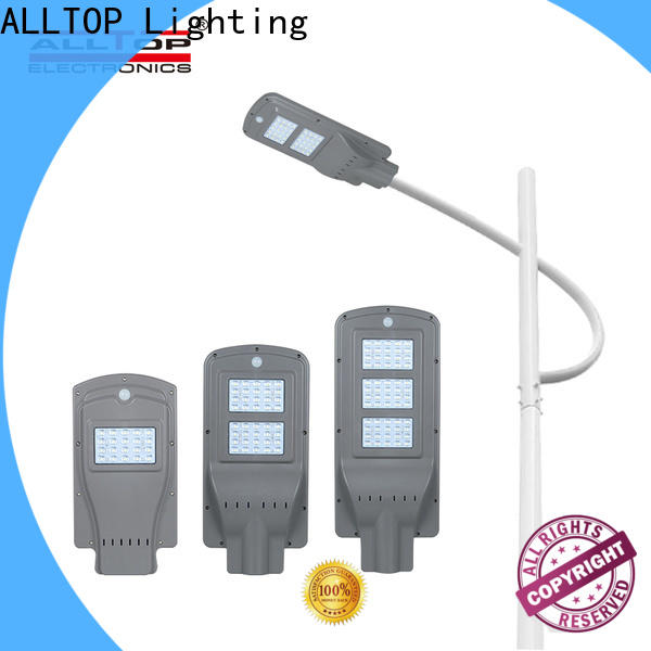 ALLTOP solar led street light with pole series for highway