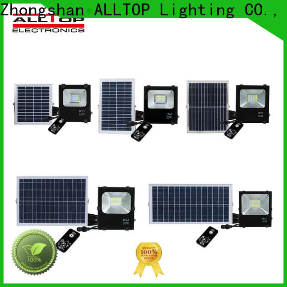 ALLTOP modern brightest solar flood lights outdoor for business for spotlight