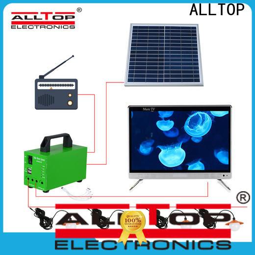 ALLTOP 12v solar lighting system directly sale indoor lighting
