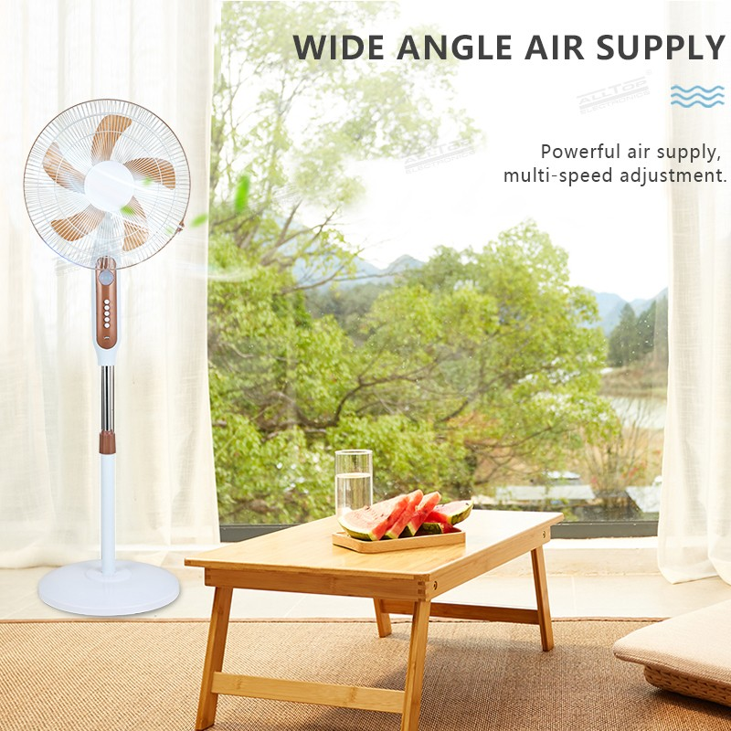 product-ALLTOP -ALLTOP 16 inch rechargeable solar table fan with solar panel-img-1