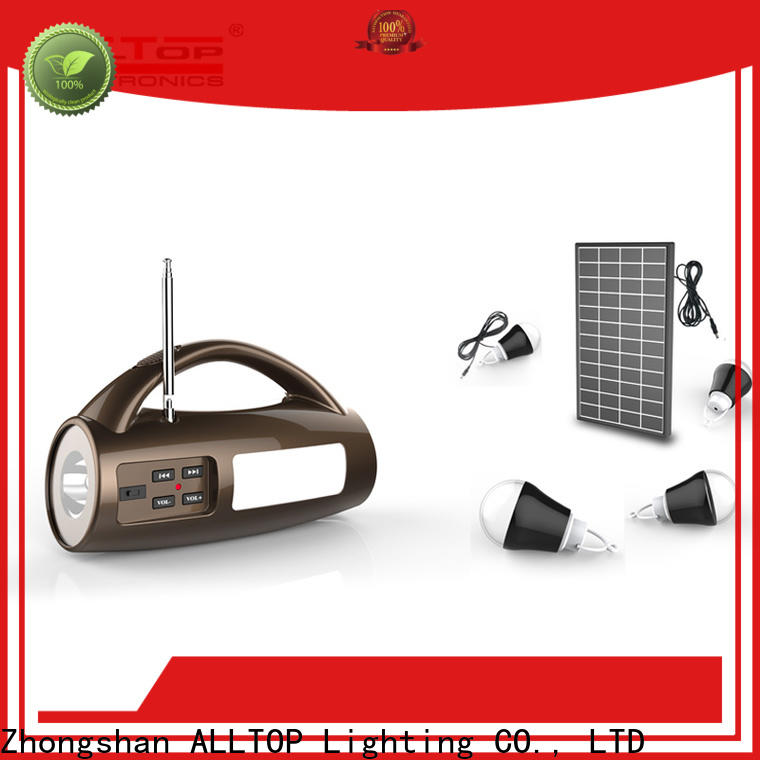 ALLTOP solar system for home with good price for outdoor lighting