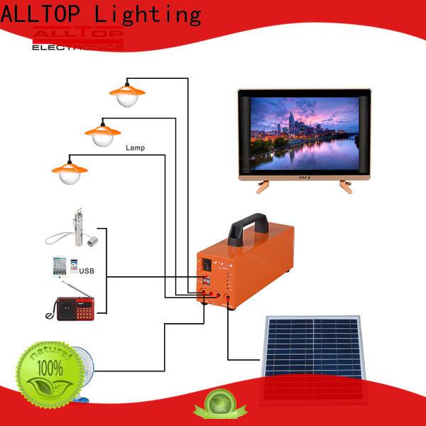 ALLTOP energy-saving solar powered lights oem series for battery backup