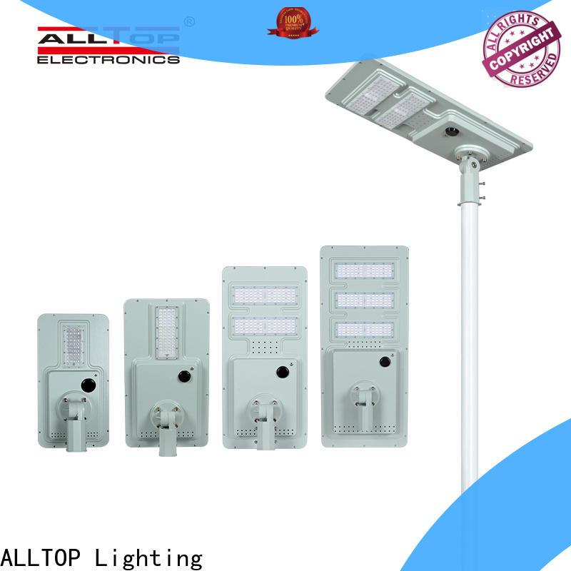 ALLTOP street lamp solar panel supplier for garden