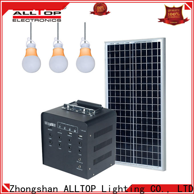 abs solar led lighting system with good price for camping