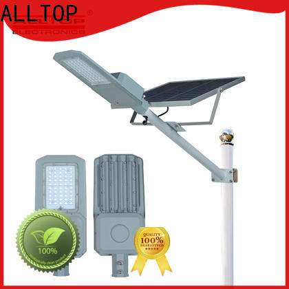 ALLTOP 12w solar street light factory for outdoor yard