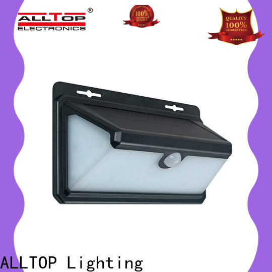 ALLTOP solar wall lantern with good price for camping