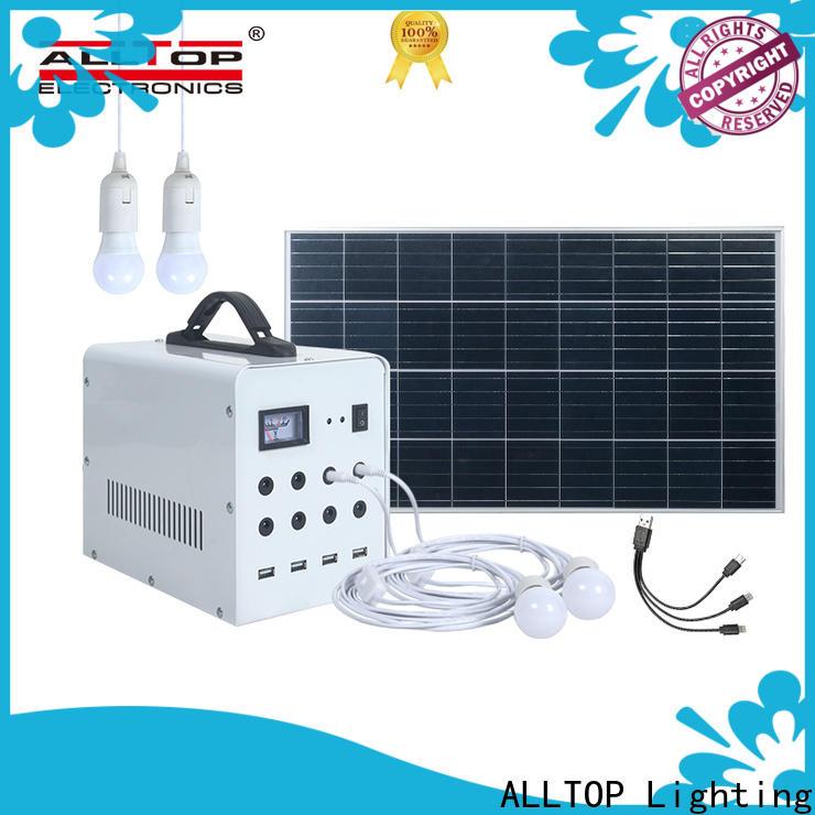 ALLTOP multi-functional best solar system for home supplier indoor lighting