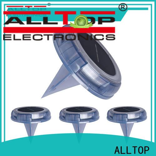ALLTOP solar led deck post lights factory for decoration