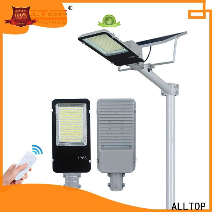 ALLTOP 20w solar street light series for outdoor yard