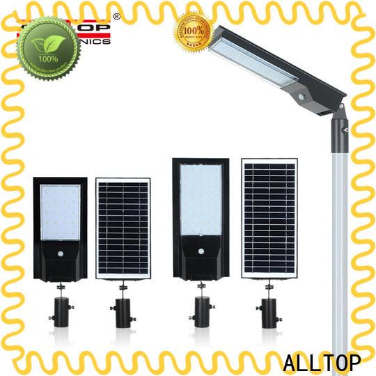 ALLTOP solar led street lamp factory for outdoor yard