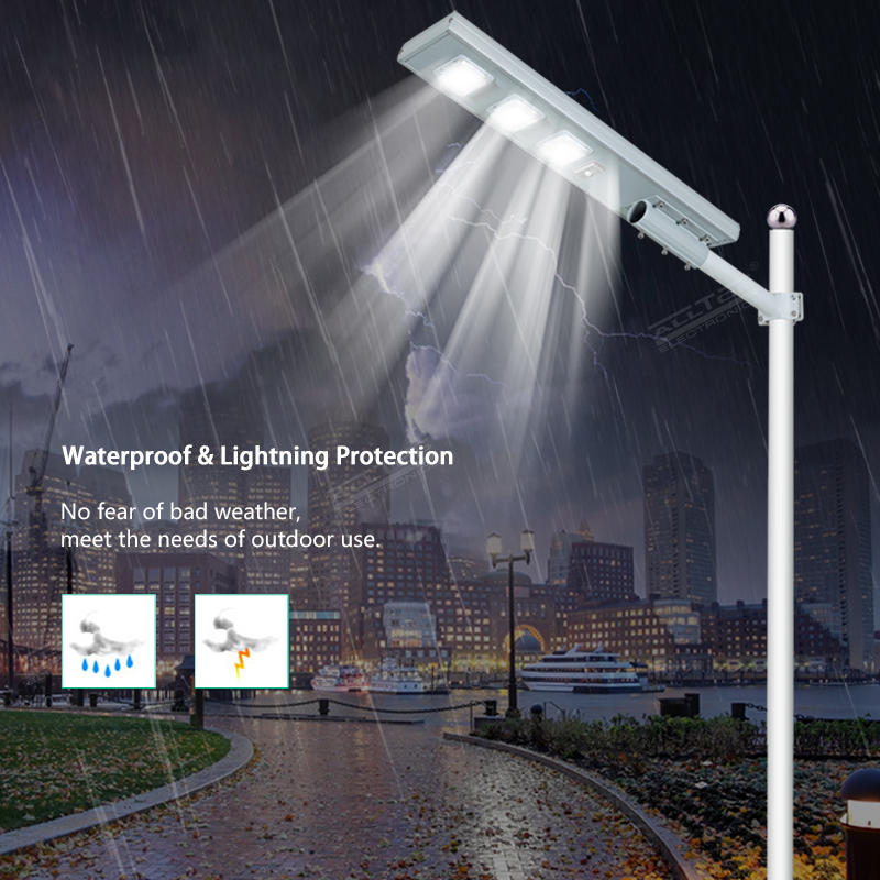 ALLTOP brigelux smd waterproof all in one solar led street light