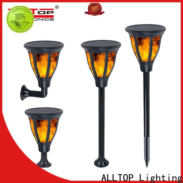 ALLTOP energy saving commercial grade solar landscape lights manufacturers for decoration