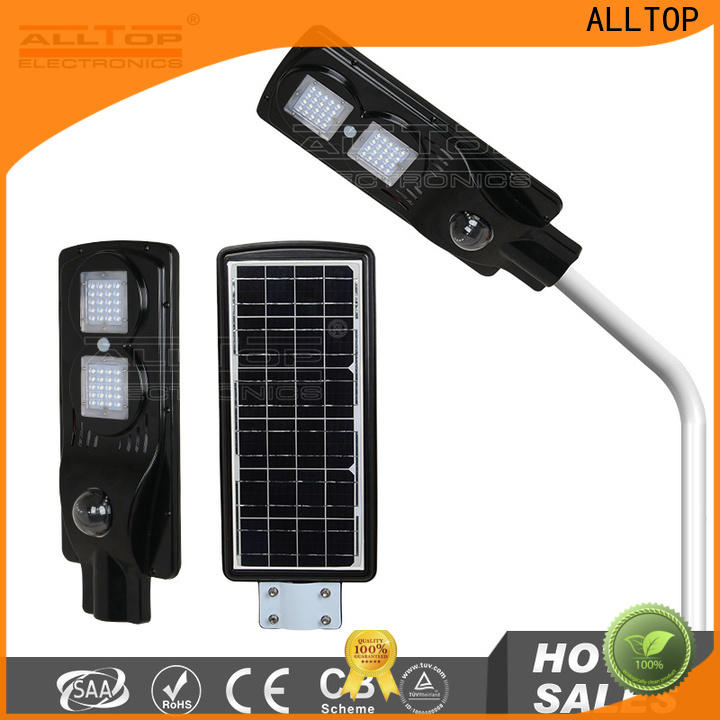 ALLTOP high-quality customized solar wall light functional manufacturer