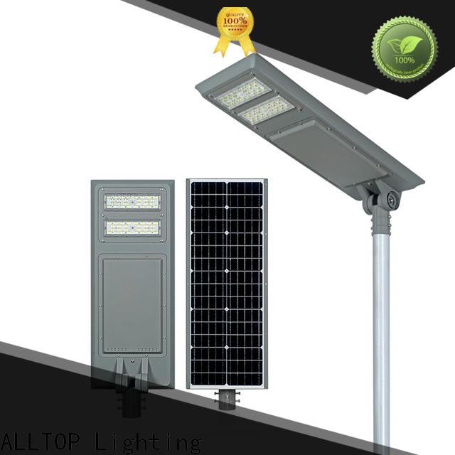 ALLTOP wholesale all in one solar led street light functional supplier