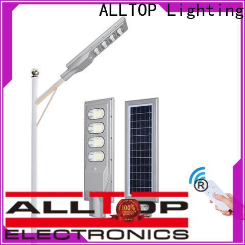 ALLTOP solar panel with led light functional manufacturer
