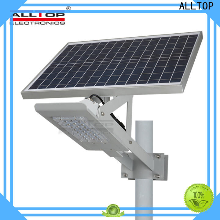 ALLTOP solar street lamp directly sale for outdoor yard