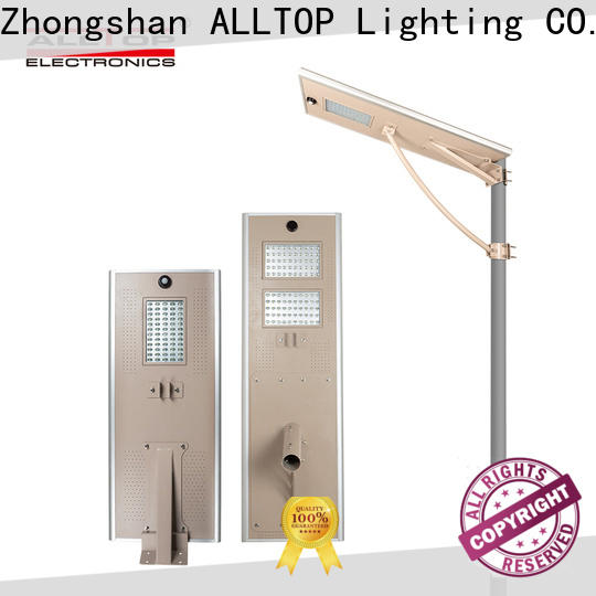 ALLTOP commercial led pole lights factory direct supply for road