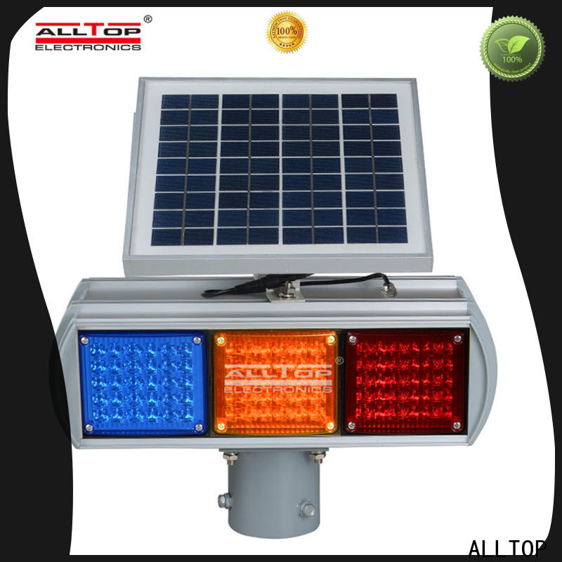 ALLTOP led traffic control signs directly sale for safety warning