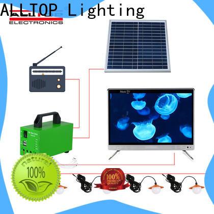 ALLTOP multi-functional 12v solar lighting system manufacturer for outdoor lighting
