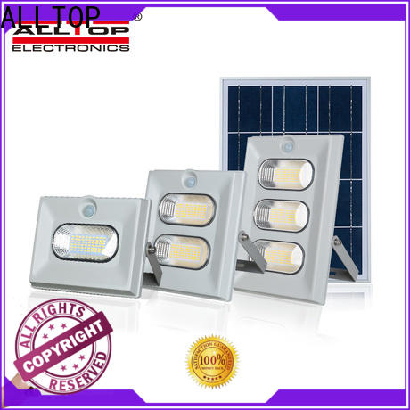 ALLTOP solar powered exterior flood lights suppliers for spotlight