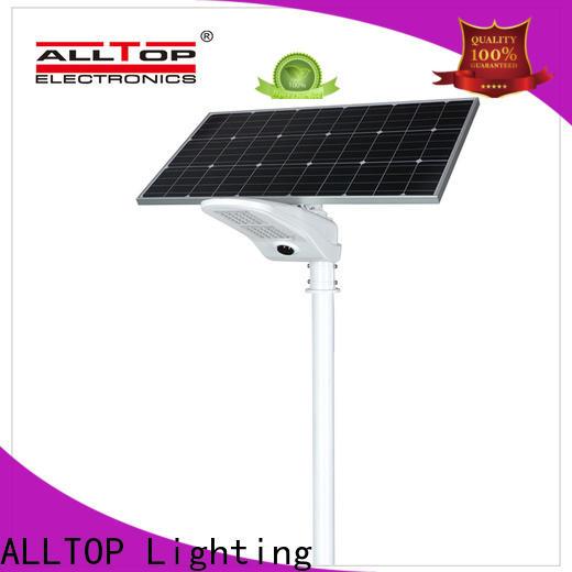 ALLTOP 9w solar street light wholesale for landscape