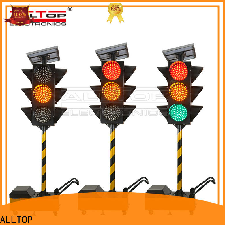 ALLTOP high quality traffic signal led lights supplier for police