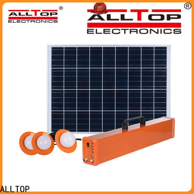 ALLTOP off-grid solar system factory direct supply indoor lighting