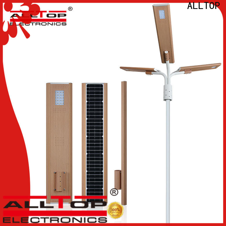 ALLTOP integrated commercial solar powered street lights directly sale for highway