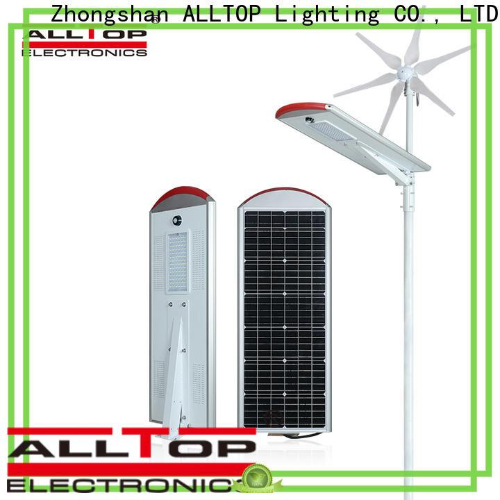 ALLTOP energy-saving solar road lights factory for garden
