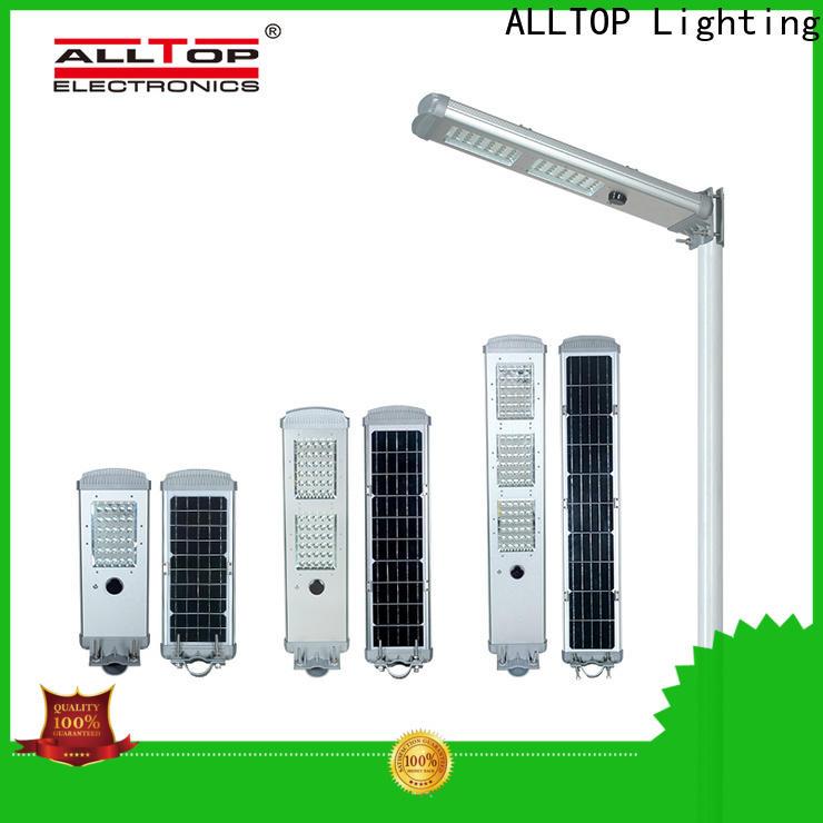 ALLTOP integrated led street light solar system wholesale for highway