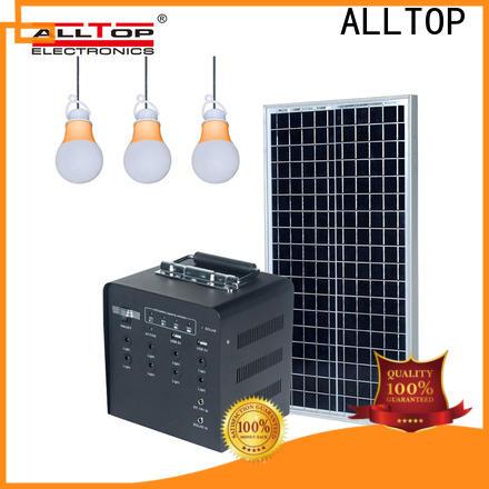 ALLTOP energy-saving customized solar powered flood lights wholesale for battery backup