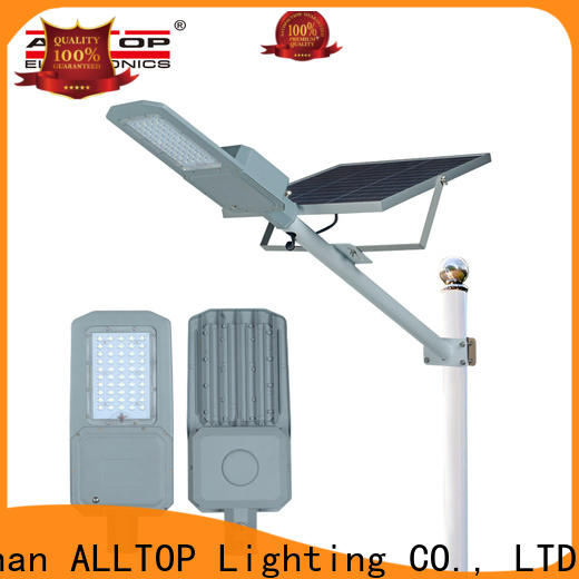 ALLTOP solar led street light supplier for lamp