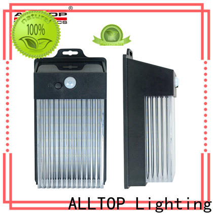 ALLTOP outdoor solar wall light with motion sensor supplier for party