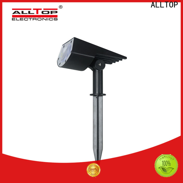 ALLTOP solar powered post lantern factory for decoration