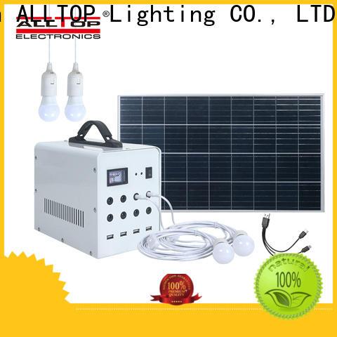 ALLTOP best solar system for home series for outdoor lighting