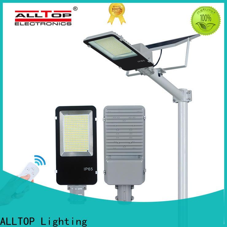 ALLTOP 12w solar street light series for landscape