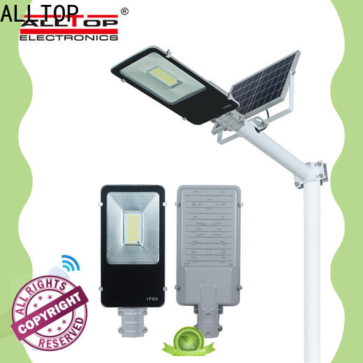 ALLTOP 30w solar street light factory for outdoor yard
