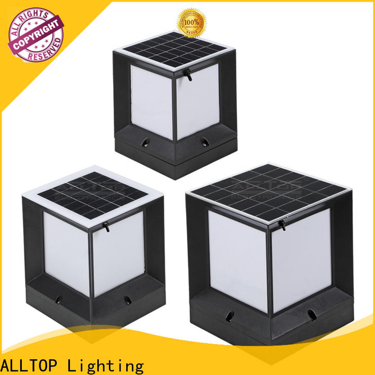 ALLTOP solar led garden light factory suppliers for decoration