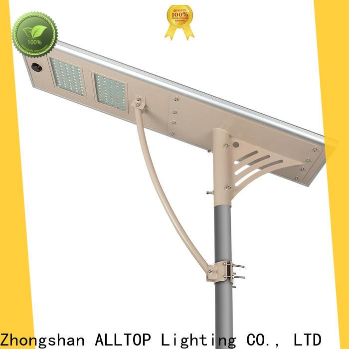 ALLTOP waterproof solar street light integrated functional manufacturer