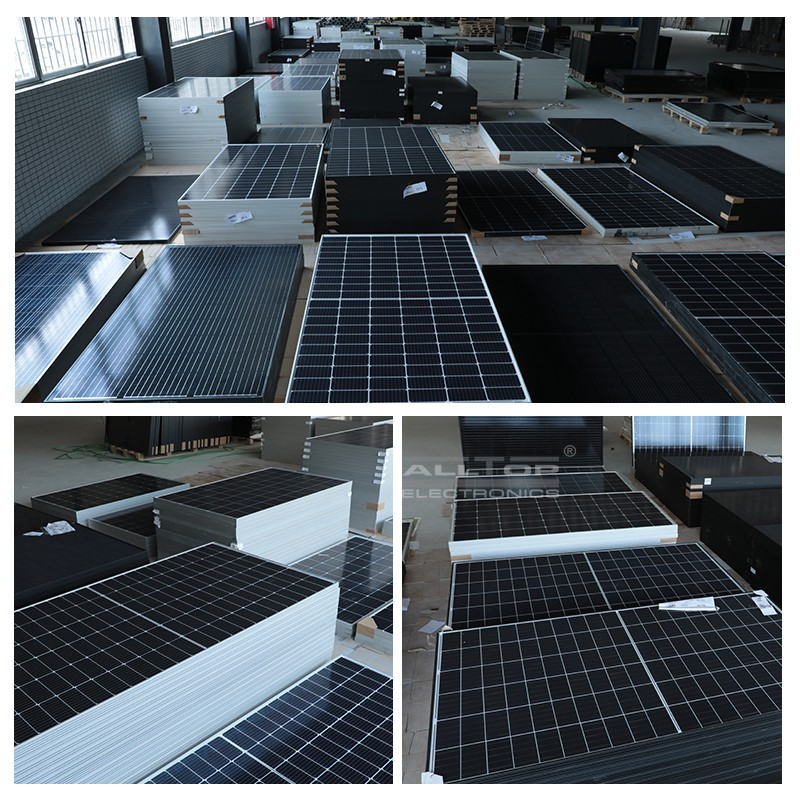 product-Canadian Cheapest Trina Monocrystalline Solar Panel Cell System Price For Home Used-ALLTOP --3