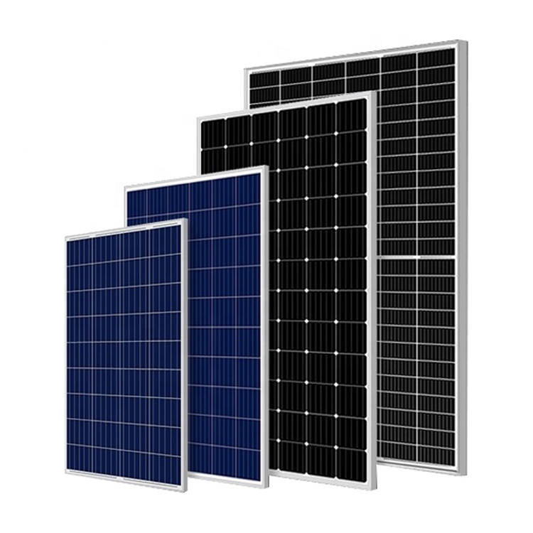 Chinese Supplier Cheap Price Ja Solar Trina 144cells Half Cell 5bb Mbb 9bb Mono Solar Panel for Solar Farm