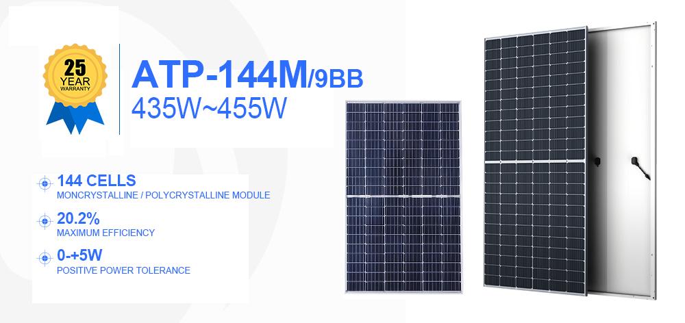 product-Supply Trina Solar Cells Mono Perc Pv Modules 435w 440w 445w 450w 455w Solar Energy Panel Pr
