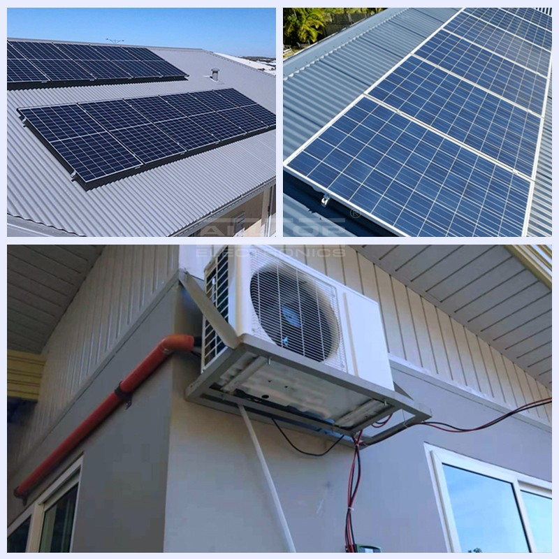 product-DC 48V 100 off grid solar power air conditioner in hybrid solar air conditioners-ALLTOP -img-2