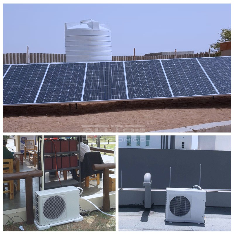 product-ALLTOP -DC 48V 100 off grid solar power air conditioner in hybrid solar air conditioners-img-3